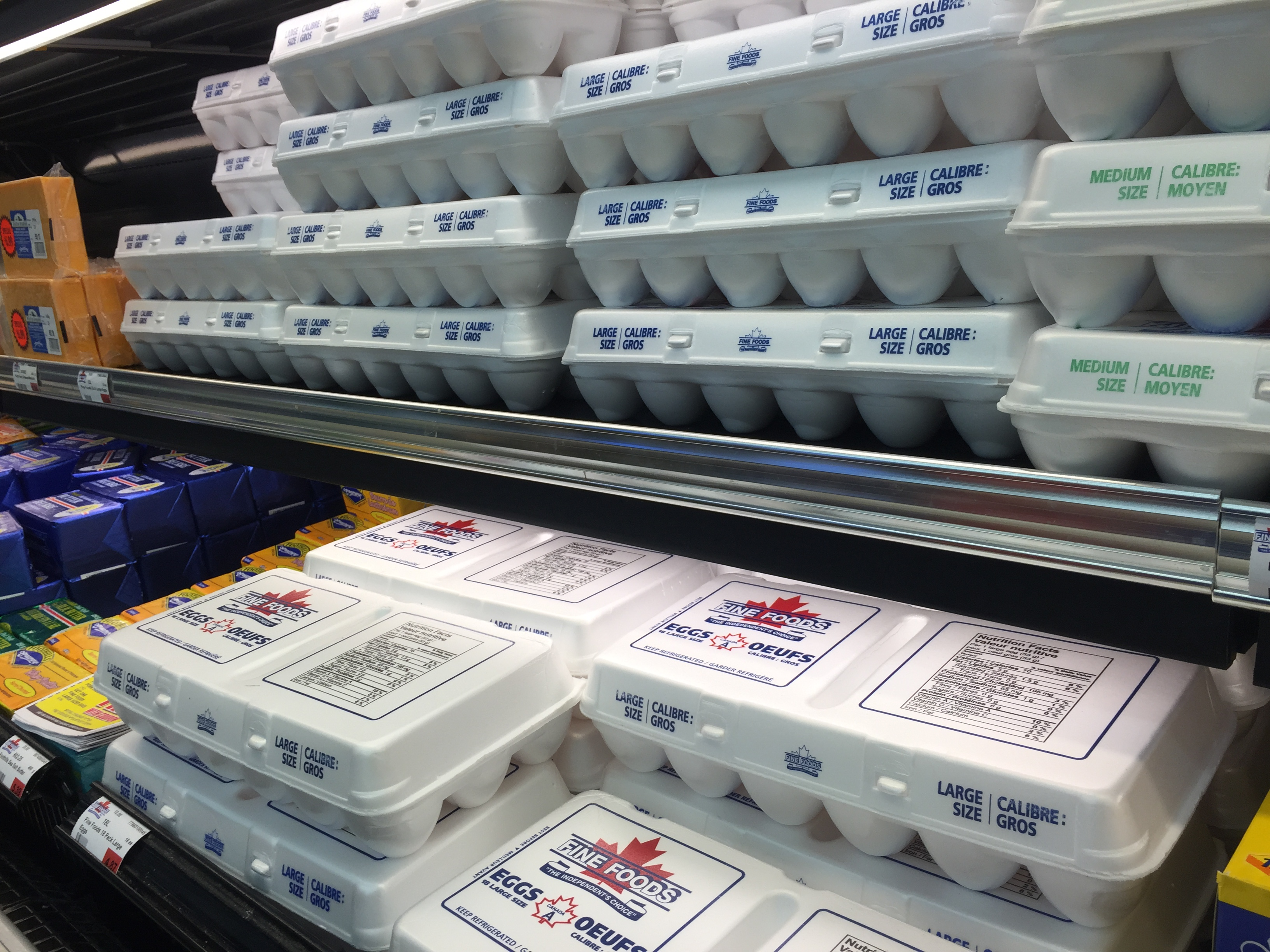 Fine Foods Large/Medium Eggs Image